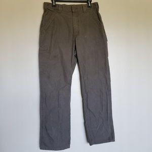 🌅 Carhartt Men's Gray Cargo Pants